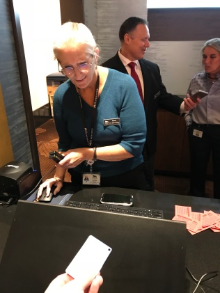 Nancy at he M Life desk added my $20 free slot play in a jiff.